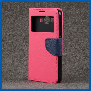 S View Window Leather Flip Stand Case for iPhone 6 pictures & photos