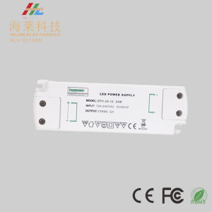 12V 24V 24W Plastic Linear IP20 Indoor LED Driver pictures & photos