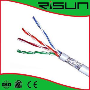 Super Quality LAN Cable FTP Cat5e with Ce RoHS ISO9001 pictures & photos