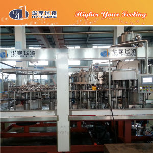 Glass Carbonated CSD Drinks Filling Equipment pictures & photos