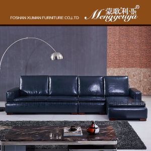 Top Grain Leather Sofa (902#)