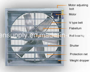 36 Inch Greenhouse Exhaust Fan pictures & photos