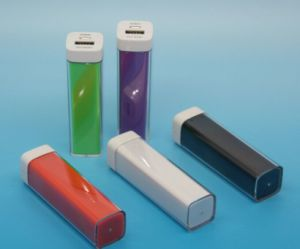 UL Approved Lipstick-Sized Portable Charger Power Bank for iPhone pictures & photos