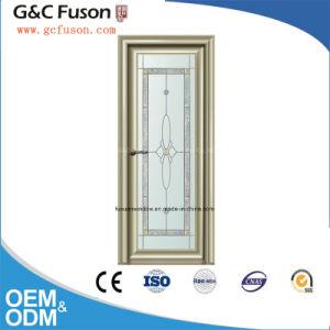 New Design Aluminum Double Tempered Glass Casement Door pictures & photos