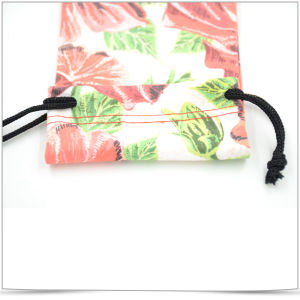 Microfiber Soft Drawstring Pouch for Cellphone pictures & photos