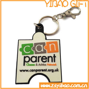 Factory Price Custom PVC Key Ring for Promotional Items (YB-k-007) pictures & photos