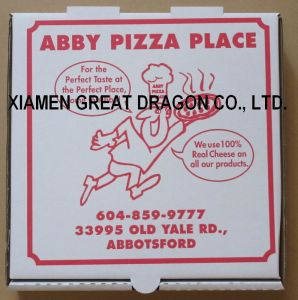 Locking Corners Pizza Box for Stability and Durability (PB160585) pictures & photos