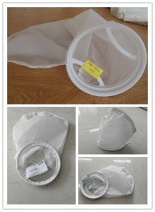 Nylon Mesh Liquid Filter Bag with Drawstring / Stainless Steel / Plastic Ring pictures & photos