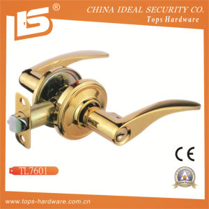 Zinc Alloy Tubular Door Handle Lockset-Tl7601 pictures & photos