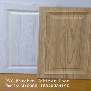 PVC Kitchen Cabinet Door From Zhuv Factory pictures & photos