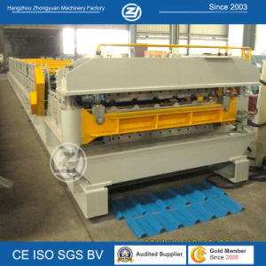 ISO CE Certificate Double Profiles Cold Roll Forming Machine pictures & photos