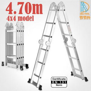 4X4 Multi-Function Ladder Big Hinge 4.7m pictures & photos