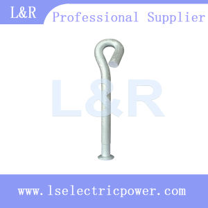 Pig Tail Hook Bolt Pig Tail Screw Bolt for Pole Line Hardware pictures & photos