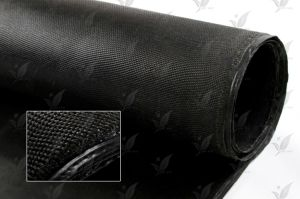 Black Colour of Silicone Rubber Coated Glass Fabric pictures & photos