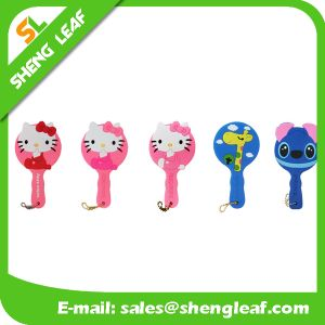 Cartoon Design Fancy Rubber Hanging Makeup Mirror (SLF-RM003) pictures & photos