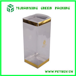 Plastic Clear Hard Popular Whisky Folding Boxes Packaging pictures & photos