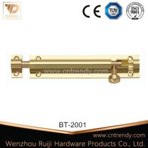 Furniture Hardware Brass Flush Bolt for Interior Door (BT-2006) pictures & photos