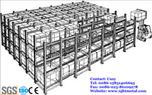 Heavy Duty Gravity Dynamic Live Shelf for Warehouse Storage pictures & photos