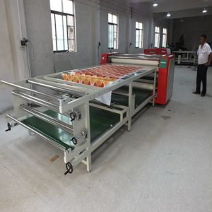 Fy-Rhtm480*1900 Large Format Roller Style Heat Press Machine Manufacturer for Ployester Fabric Printing Industry pictures & photos