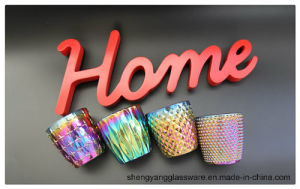 Hot Sell Colorful Ion Plating Candle Holders for Home Decor pictures & photos