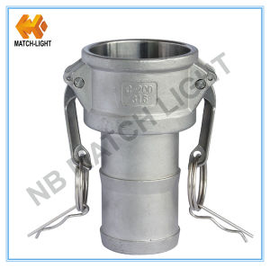 Stainless Steel Coupler Type C Camlock Coupling with Grooved Hose-Shank pictures & photos