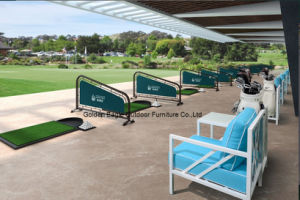 Rattan Patio Sofa Set for Golf Course