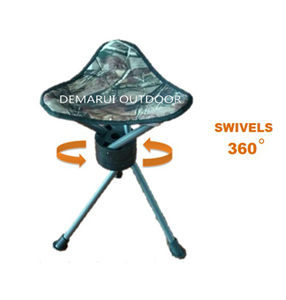 Triangle Chair, Triangle Stool with 360 Degree Swivel Action pictures & photos