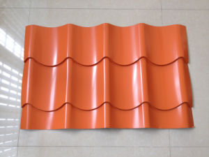 Color Galvanized Zinc Coated Corrugated Steel Sheet pictures & photos
