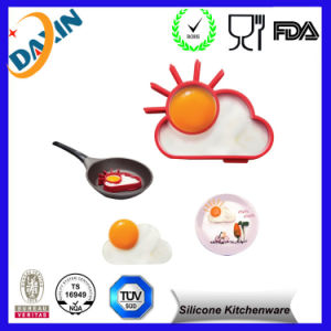 2015 FDA Food Grade Multi Shape Cooking Silicone Egg Mold pictures & photos