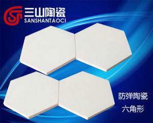 Hexagonal Alumina Bullletproof Ceramic (SSTC0048) pictures & photos