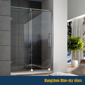 hz 10mm tempered bathroom glass sliding door