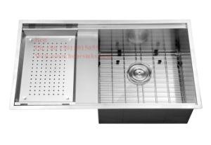 Handmade Sink, Stainless Steel Sink, Kitchen Sink, Sink, Stainless Steel Drop in Handmade Wink, Drainboard Handmade Kitchen Sink pictures & photos