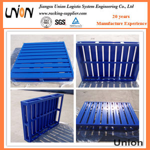 Four Way Entry Galvanized Warehouse Steel Pallets pictures & photos