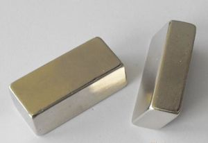 Custom Size Permanent NdFeB Neodymium Block Magnet pictures & photos