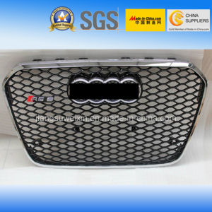 "Silver Front Auto Car Grille for Audi RS6 2013"" pictures & photos"