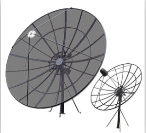 2.4m TV Satellite Dish Antenna Aluminum Mesh Antenna pictures & photos