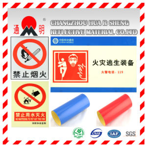 Pet Type Advertisement Grade Reflective Sheeting Film for Advertising Signs Warning Board pictures & photos