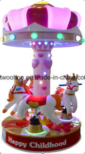 Happy Childhood Whirlgig Merry-Go-Round Indoor Equipment pictures & photos