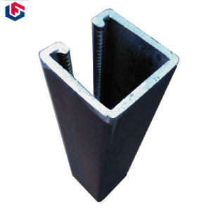Black PV Mounting Section Steel High Quality Steel Channel