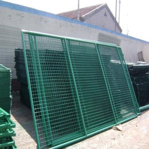 Hot DIP Galvanized Wire Mesh Barrier pictures & photos
