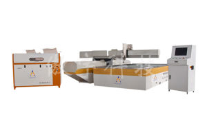 Flying Arm Waterjet Cutting Machine with 3, 4, 5 Axis pictures & photos