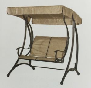 Leisurely Net Cloth 2-Seater Swing High Quality Garden Swing pictures & photos
