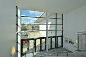 Energy Rated Unitized Double Glass Aluminium Curtain Wall Systems pictures & photos