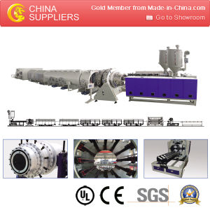 Economic Cheapest Corrugated HDPE Pipe Extrusion Machine pictures & photos