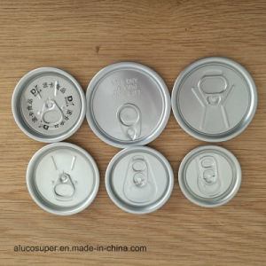 Aluminum Beverage Can Lids 50mm 200 Size Easy Open Lid pictures & photos