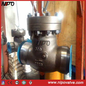 Cast Steel Bw/RF End Butt Welded Swing Check Valve pictures & photos