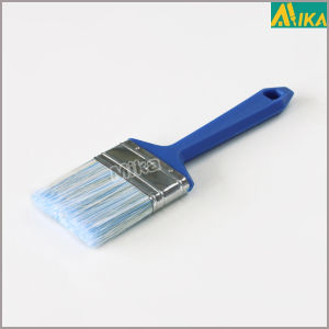 Blue Plastic Handle Brsitle& Filament Mixture Paint Brush