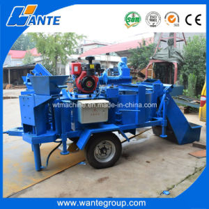 Wante Brand Wt2-20m Interlocking Clay Brick Block Machine in Kenya pictures & photos