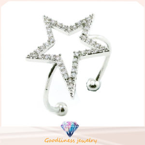 China Wholesale Jewelry Star Pattern Design Fashion Jewelry 925 Sterling Silver Jewelry Ring (R10371) pictures & photos