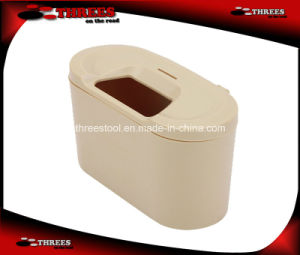 Portable Fixable Plastic Mini Car Trash Can (1507003) pictures & photos